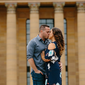 Philadelphia Engagement / Jackie & Derek / By Korin