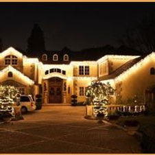 home holiday lighting