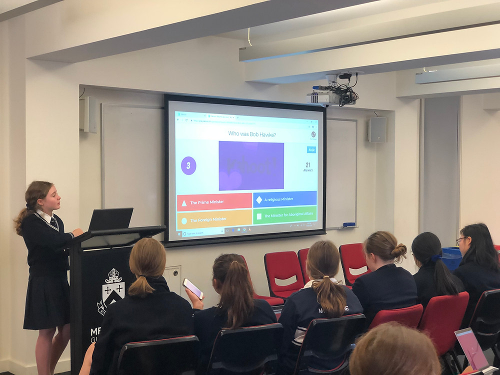 Melbourne Girls Grammar School students learning about and teaching Treaty