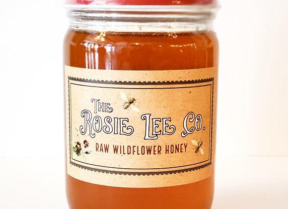 Raw Wildflower Honey