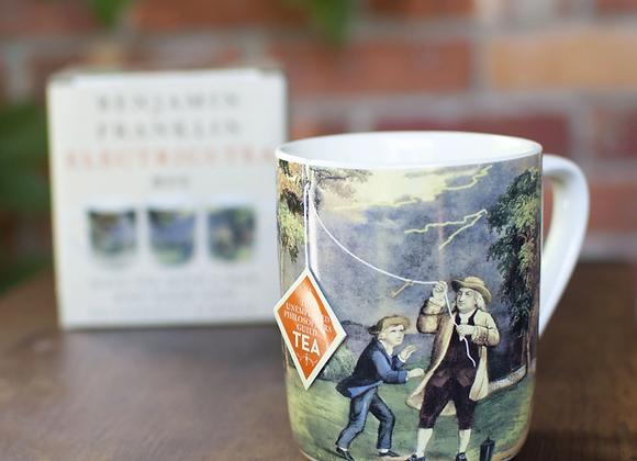 Benjamin Franklin Electrici-TEA mug
