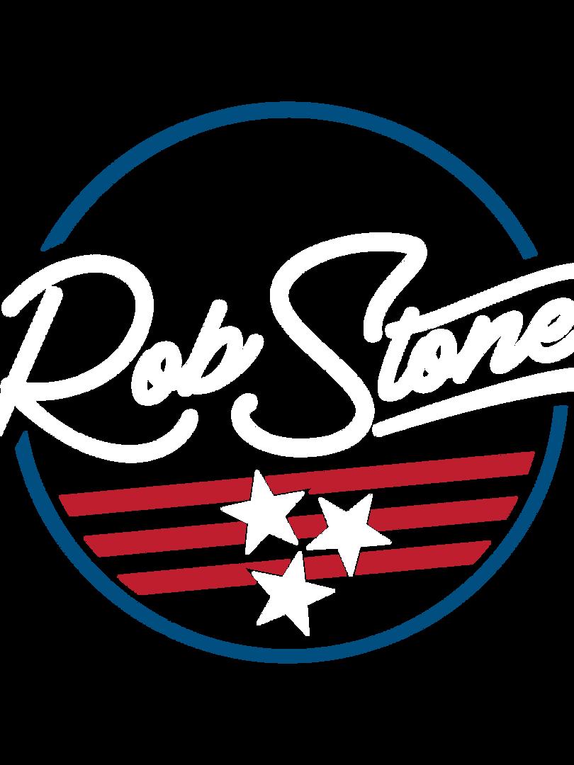 Rob Stone logo white