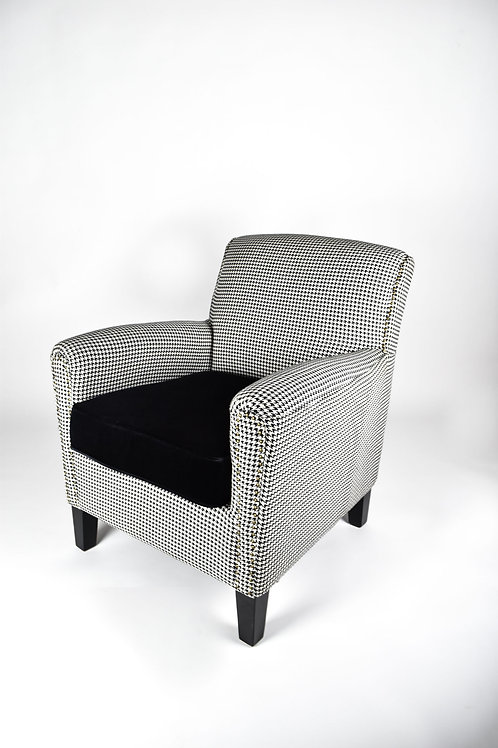 Pair of Houndstooth Armchairs
