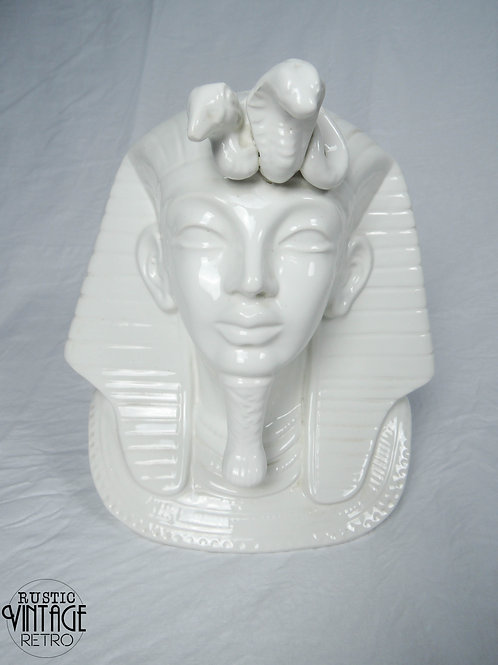 Ceramic Pharaoh Bust