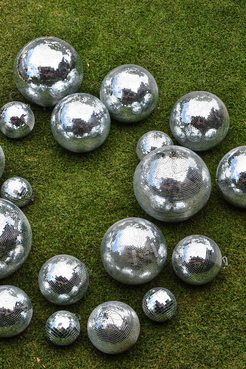 Mirror Balls, Retro, Disco, Hire, Events