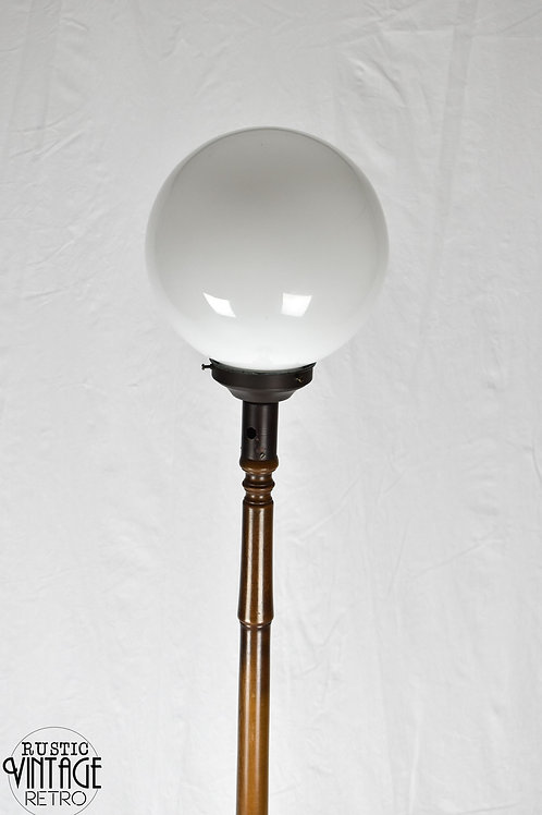 Standard Lamp with Ball Shade