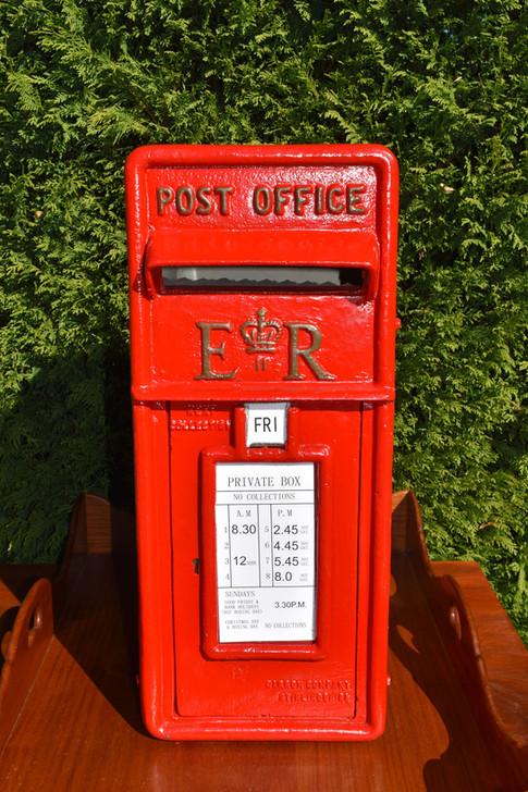 British Post Box, Wishing Well, Hire