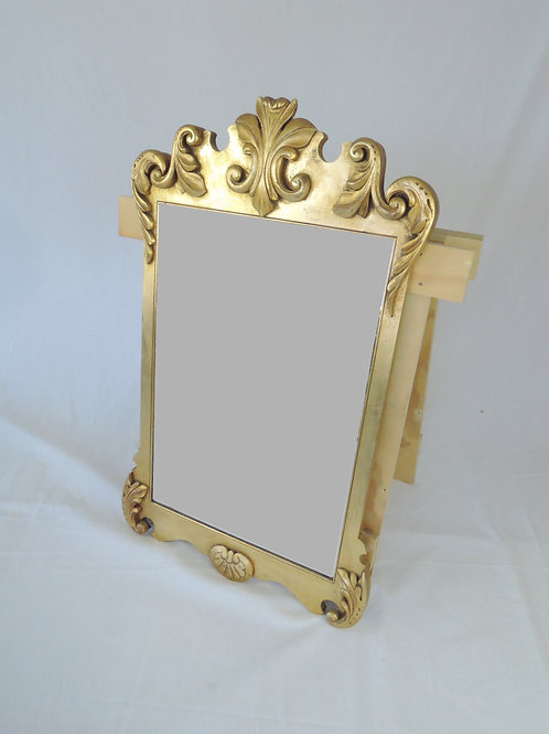 Ornate Gilt Framed Mirror Feat. Bevelled Edge