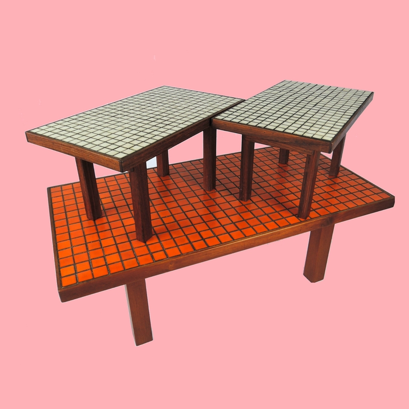 Buy Collection - Retro Table Pink Background