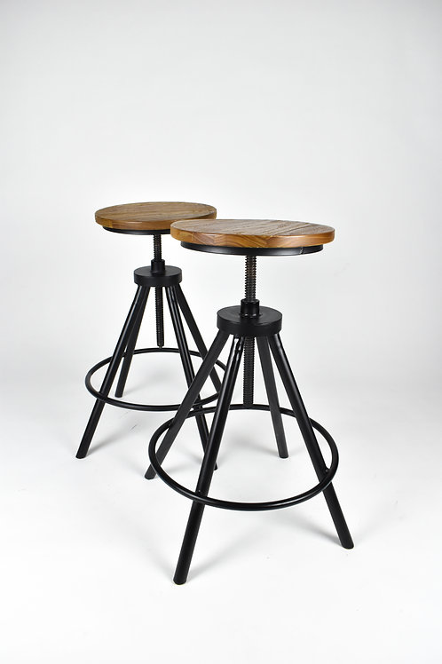 Set of 4 Black Stools