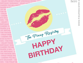 It's Our Birthday: Share & Win