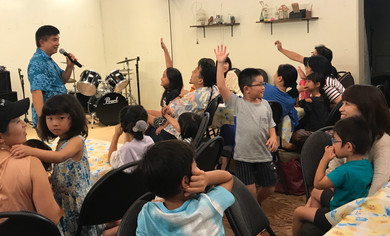 Japan Missions Pastor Terence with Kids.