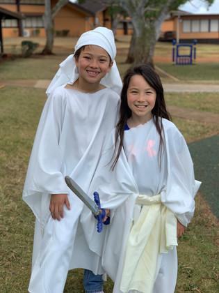 Kids Church Performance Angels