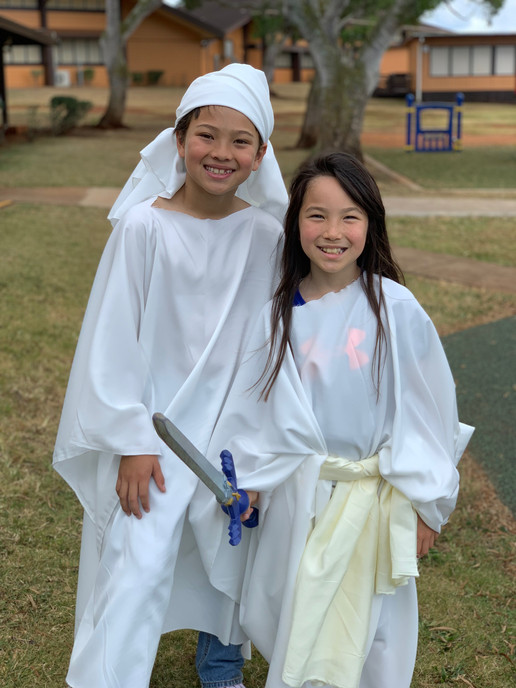 Kids Church Performance Angels