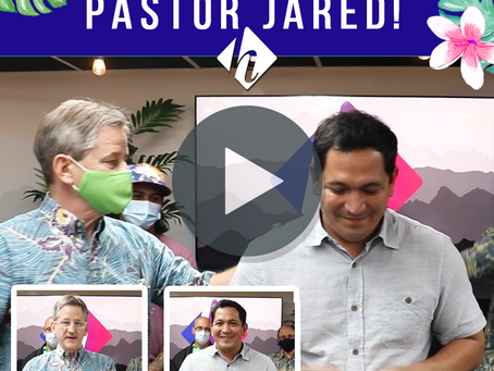 Welcome Aboard Pastor Jared!