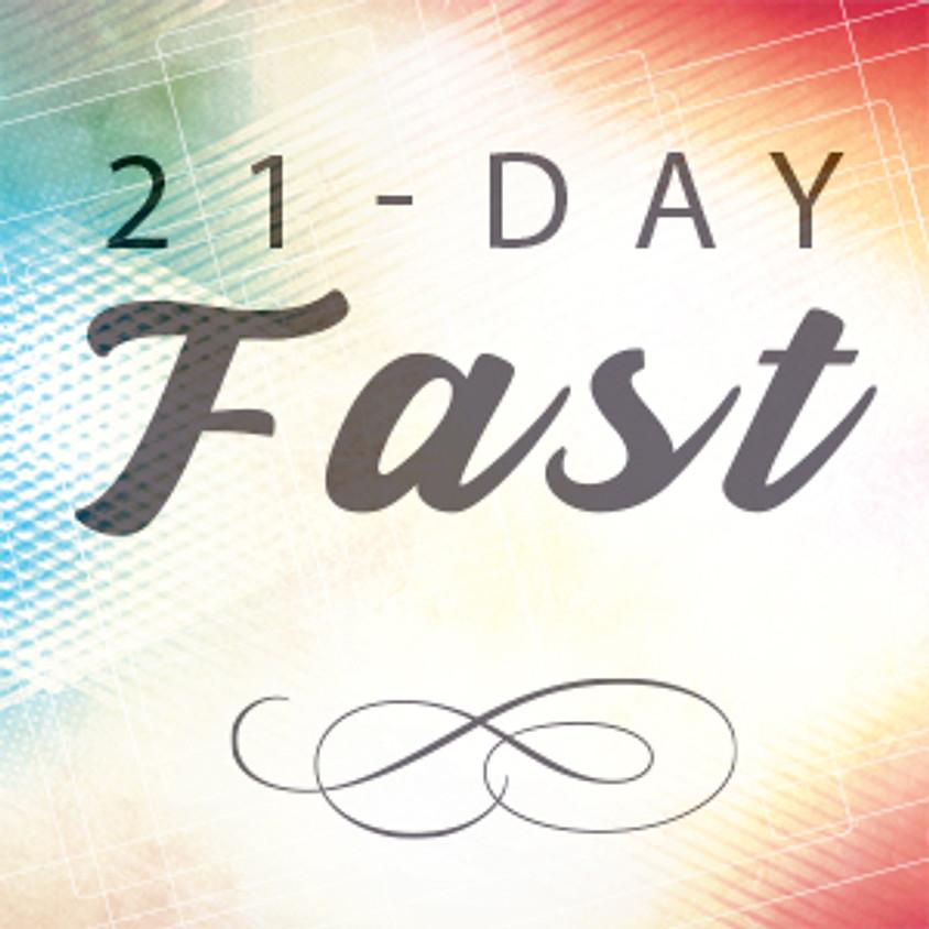 21-Day Church Fast