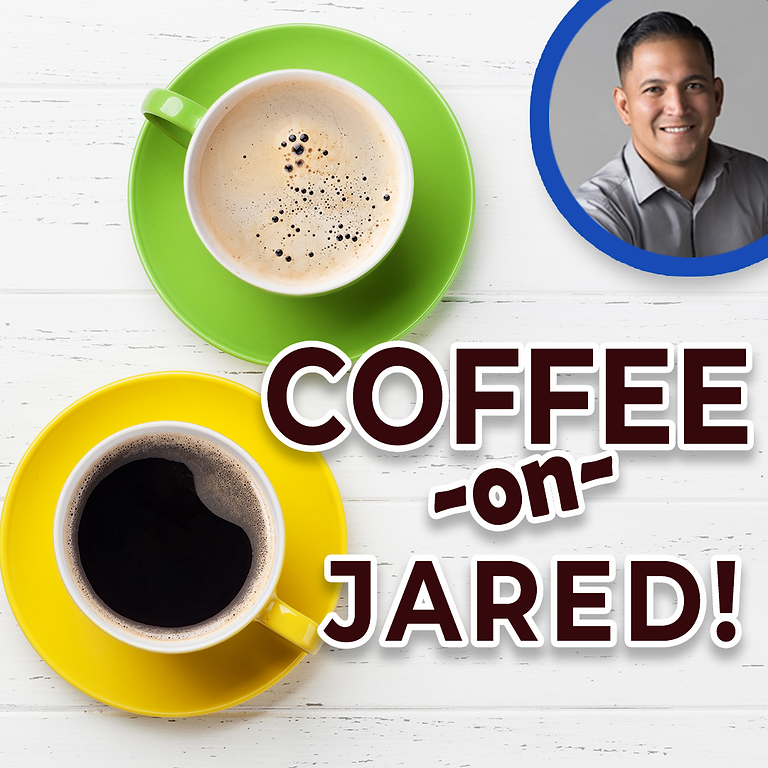Coffee on Jared!