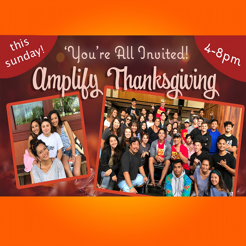 Youth Event - Amplify Thanksgiving