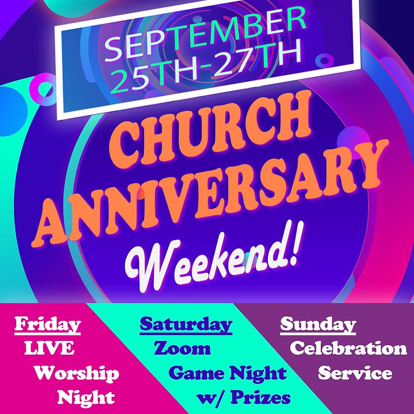 Church Anniversary Weekend - Sunday RSVP
