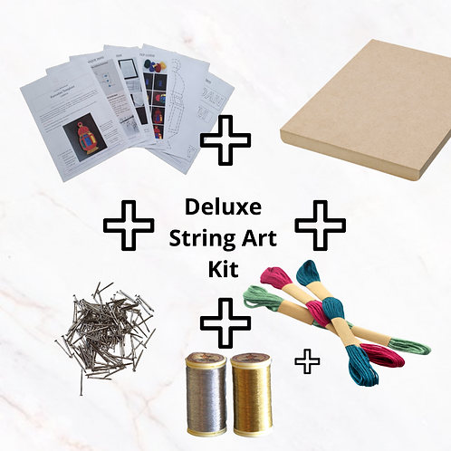 Deluxe String Art Kit