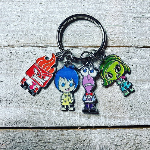 Inside Out Keychain