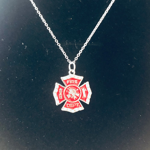 Fireman Necklace