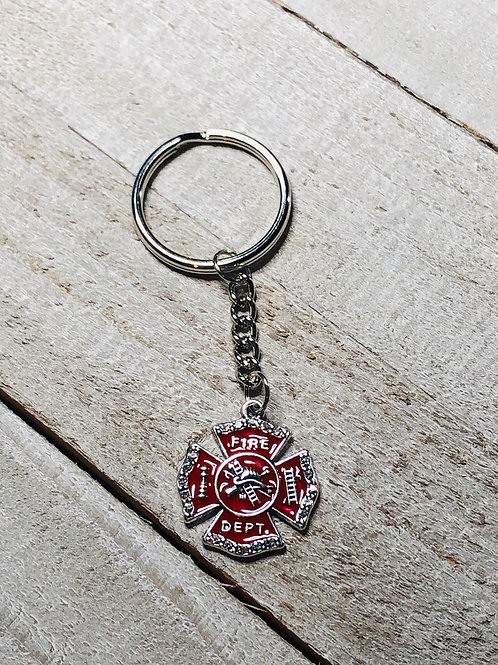 Fire-department Keychain