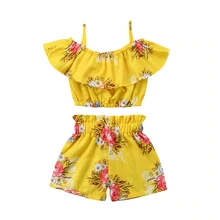 Girls Floral Summer set