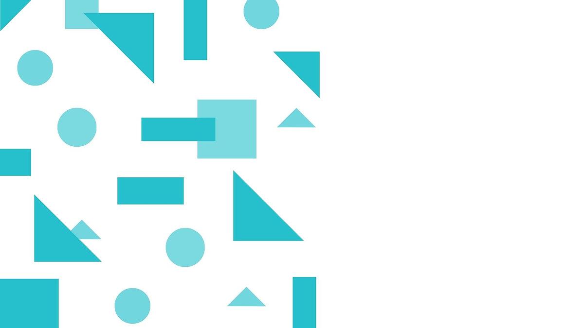 Blue Shapes Quote Desktop Wallpaper.jpg