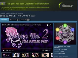 Seduce Me 2: The Demon War has been Greenlit!
