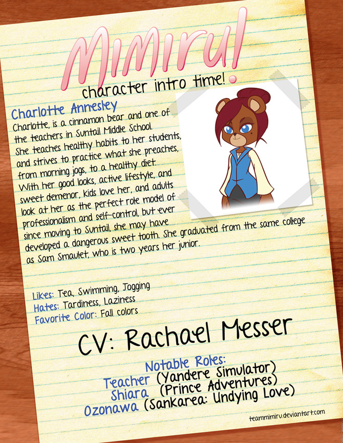 "Voice Actors for ""Mimiru!"" Announced!"