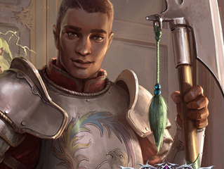 James as the voice of Sosiel in the new Pathfinder game!