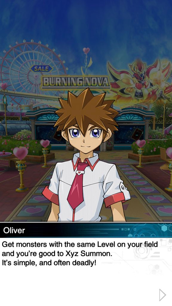 "James is the voice of ""Oliver"" in ""Yu-Gi-Oh! Duel Links"" Zexal World!"