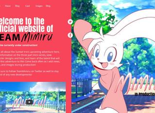 Team Mimiru's Website is now Online!