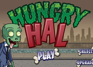 """James as Hal, others in """"Hungry Hal"""" Mobile Runner game"""