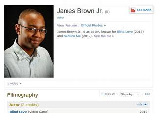 I'm on IMDb! Just Sayin'