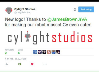 James Brown Redesigns Logo for Cylight Studios