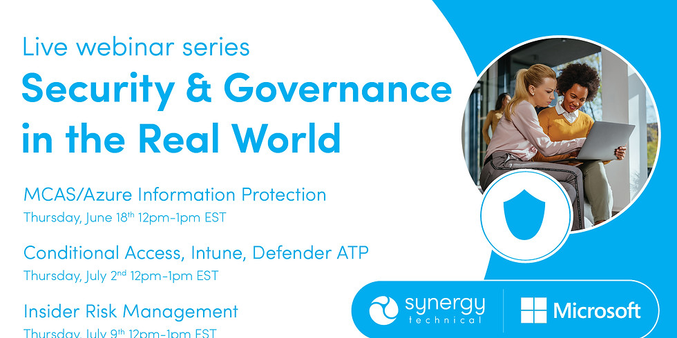 Security & Governance in the Real World: Session 2