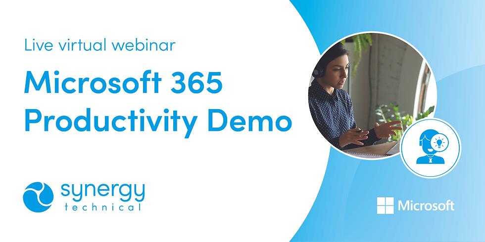 Microsoft 365 Productivity Demo