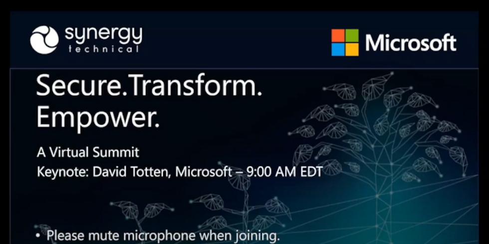 Secure Transform Empower 2020 Keynote Address