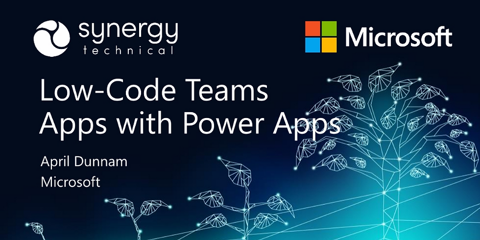Low-Code Teams Apps with PowerApps