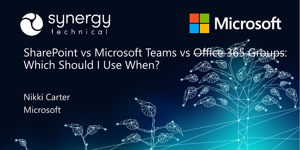 SharePoint vs. Microsoft Teams: What to Use and When?