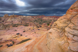 Colorscapes of Coyote Buttes Stormy Sunset Photograhy by Darren Morales (dMo)