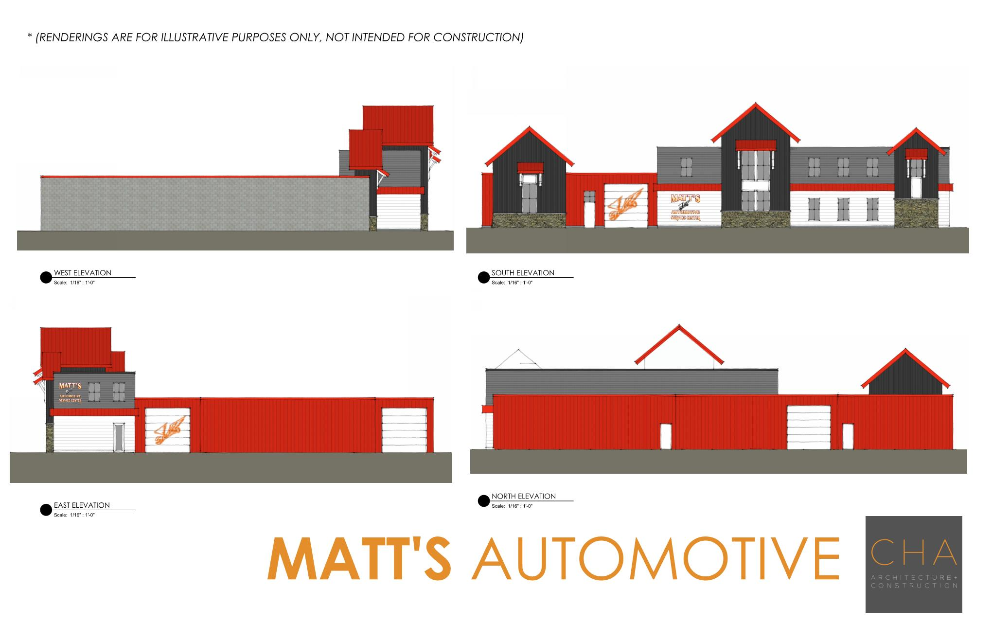 Matt's Automotive Original Rendering