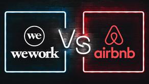 WeWork上市失敗與AirBnB上市願景