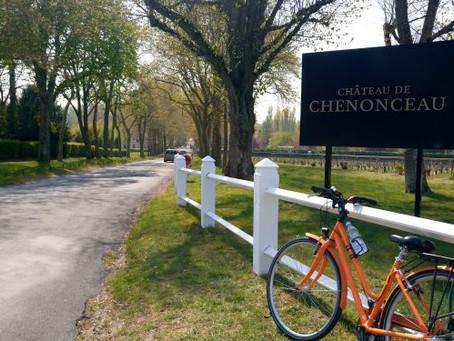 ロワールの古城、自転車で行く!