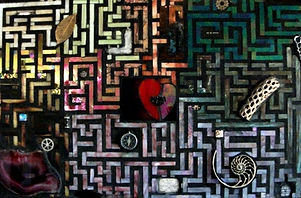 Karen_Lopez_Labyrinth_39inx27in_Mixed_Media.jpg