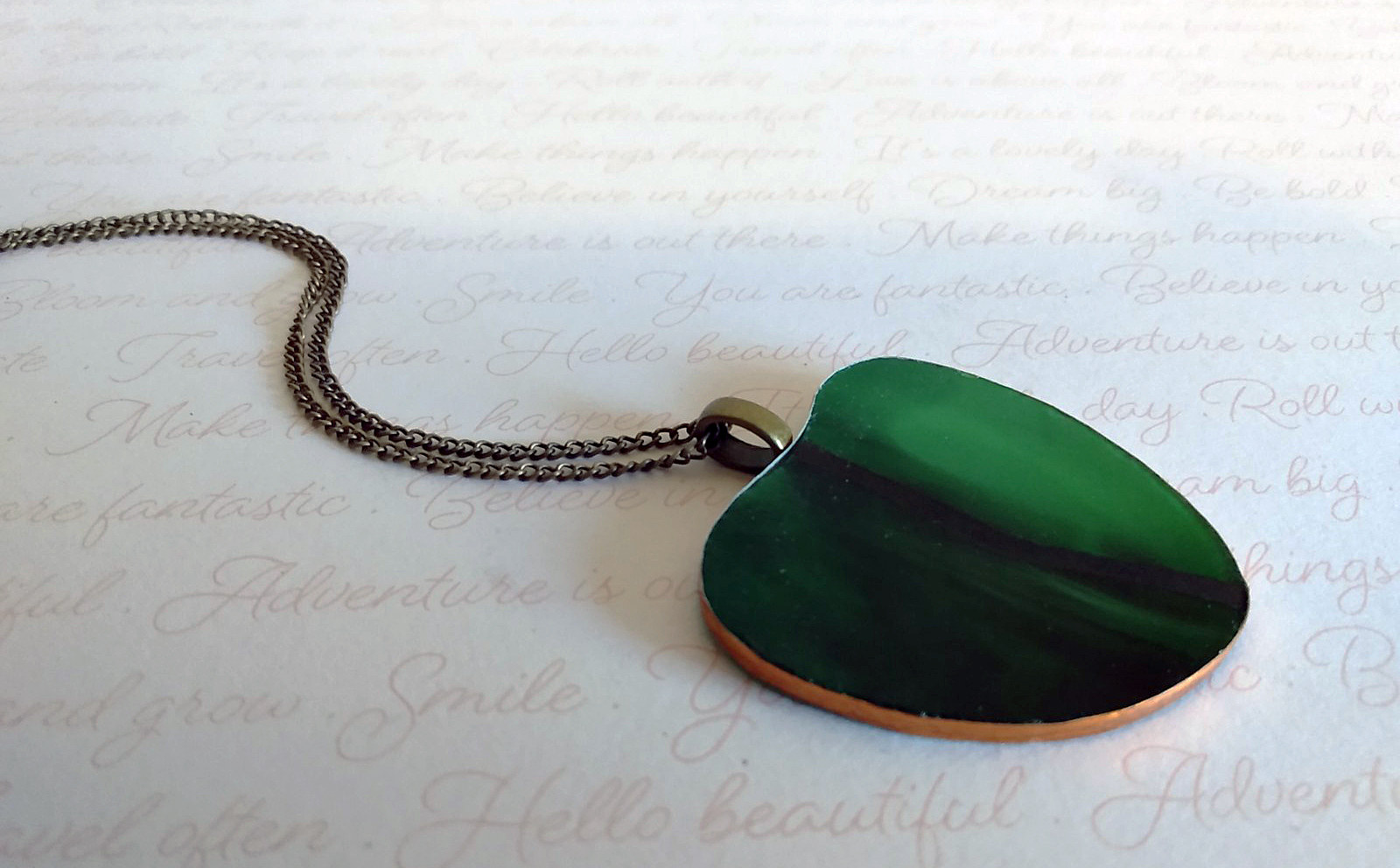 Dark Green Heart Necklace.jpg