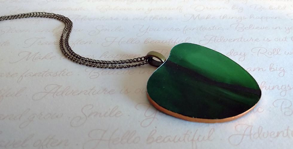 Dark Green Heart Necklace.jpg