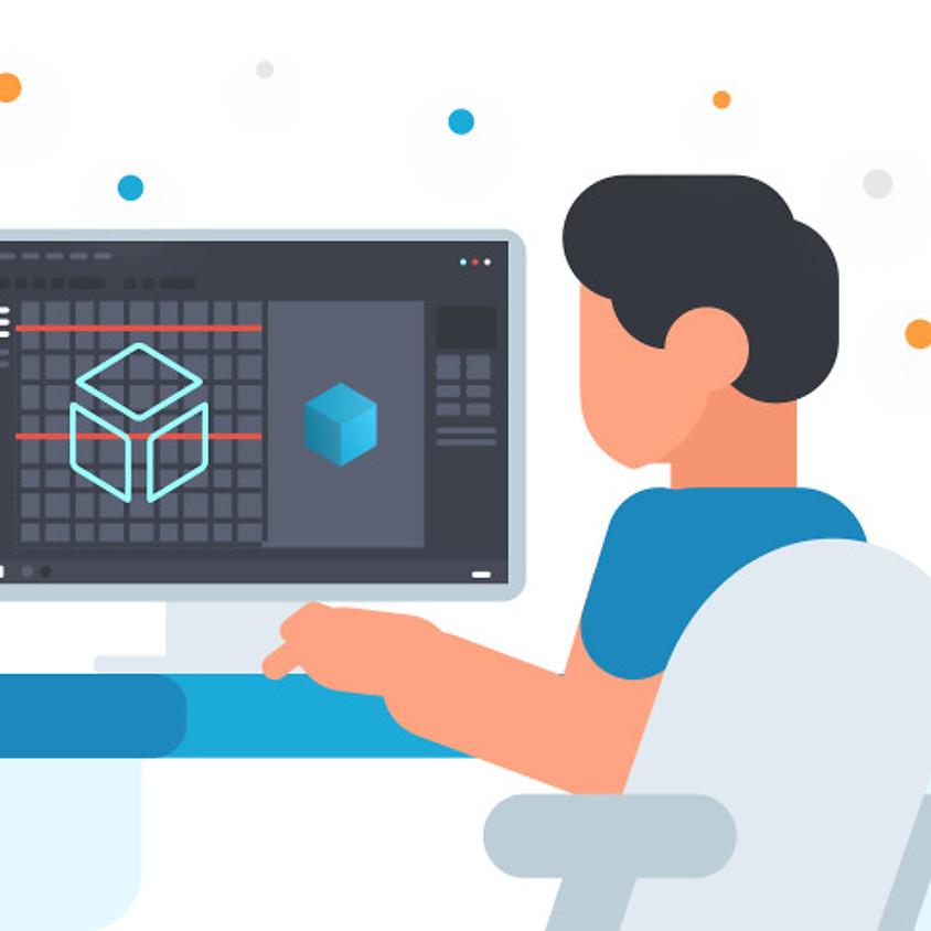 Intro to 3D Design - Starts April 8th